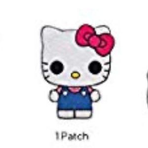 NWT Hello Kitty Funko edition iron-on patch